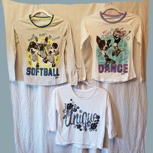 Justice Long Sleeve Shirts Bundle